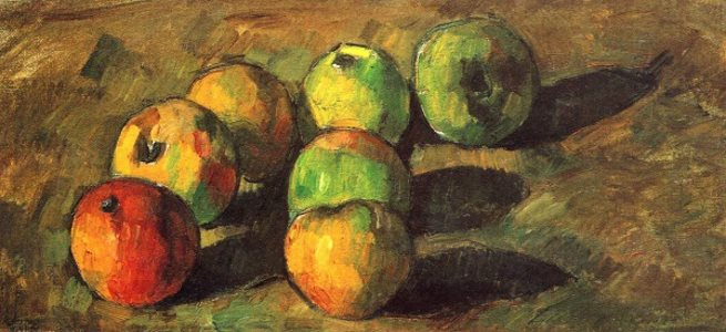 Cezanne: Apples, 1878