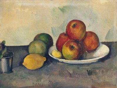 Cezanne: Still Life with Apples,1890