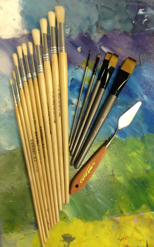 You can purchase our standard brush set during your session  at Inglis Academy.