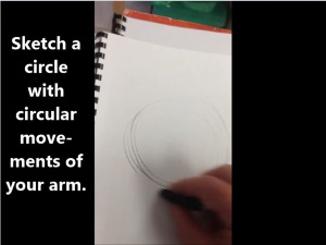 Drawing 101: How to sketch shapes (Inglis Academy)