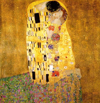 Klimt: ' The Kiss ', 1908