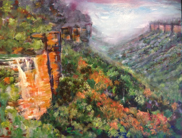 Acrylic painting lesson material by Peter Inglis | Inglis Academy - www.inglisacademy.com