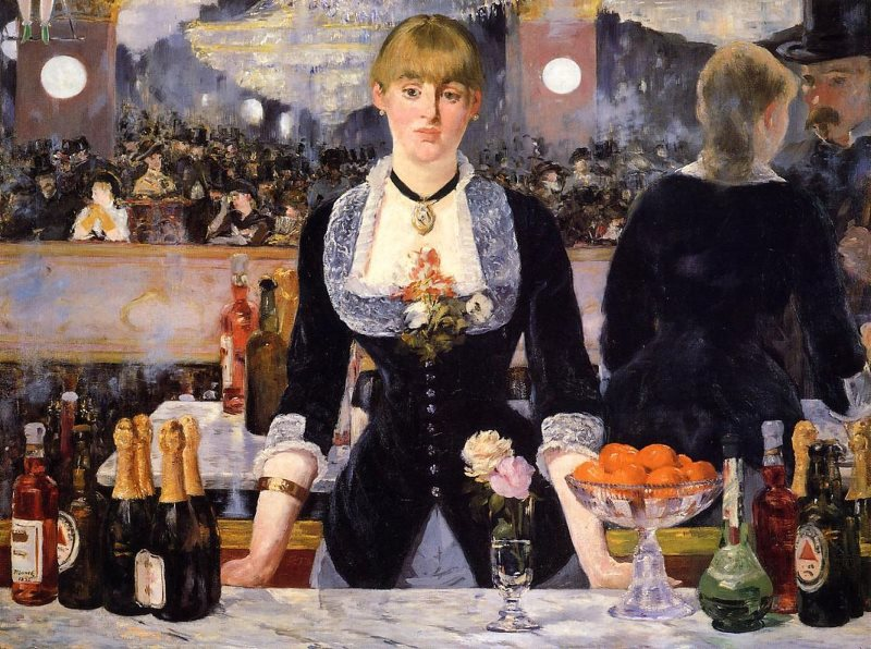 Manet: Bar at the Folies-Bergère (excerpt)