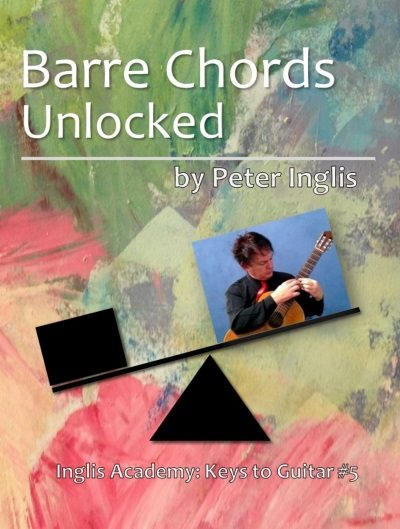 Barre Chords Unlocked - a free book for guitarists.