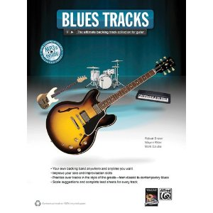 Blues Guitar Tracks published by Alfred