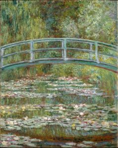 Monet: Japanese Bridge, 1899
