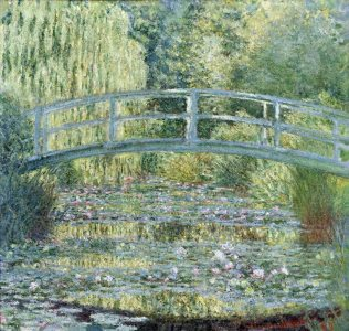 Monet: Japanese Bridge no.2, 1899