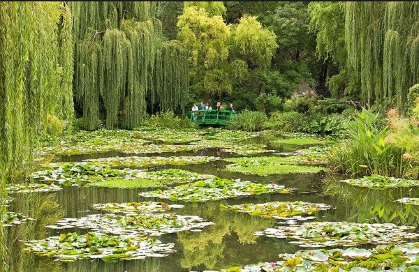 Claude Monet's house at Giverny, France.