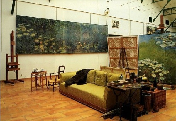 Monet's Waterlily studio