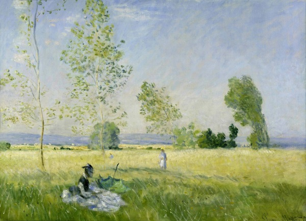 Monet: Summer (Meadow at Bezons), 1874