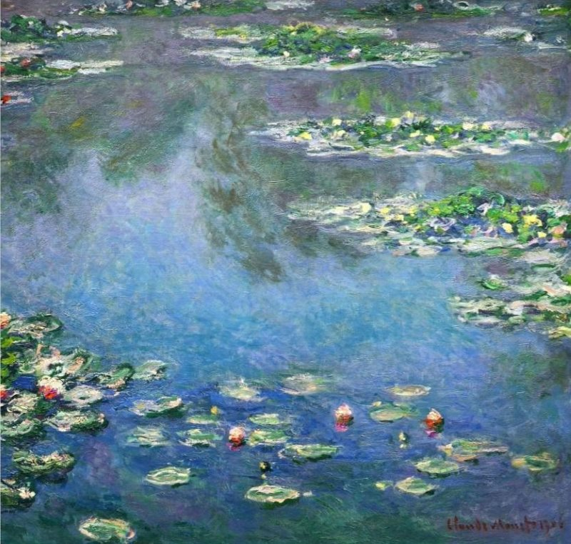 Monet: Waterlilies, 1906, No.2