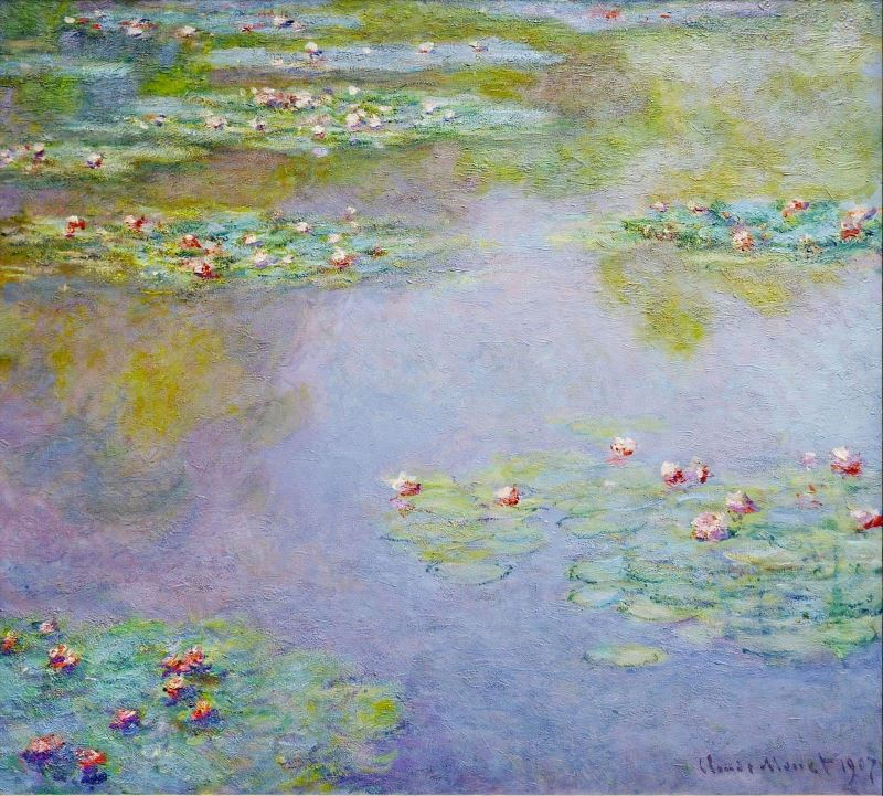 Monet: Water Lilies 1907, No.1