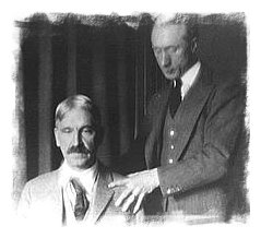 F.M Alexander with John Dewey - Image used courtesy of Robert Rickover's site - www.alexandertechnique.com