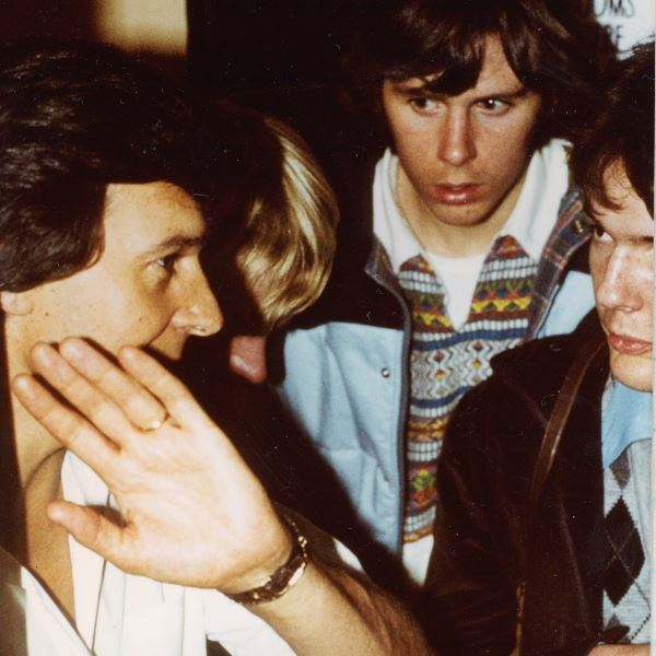 Left to right - John McLaughlin - Greg Gillett (partially obscured) - Guy Le Claire - Peter Inglis - 1979
