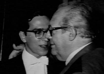 John Williams and Andres Segovia in 1966