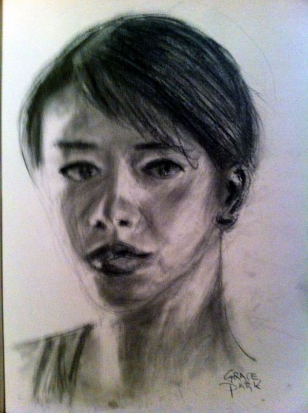 Portrait sketching course at Inglis Academy, Crows Nest
