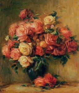 Renoir: Bouquet of Roses, 1880