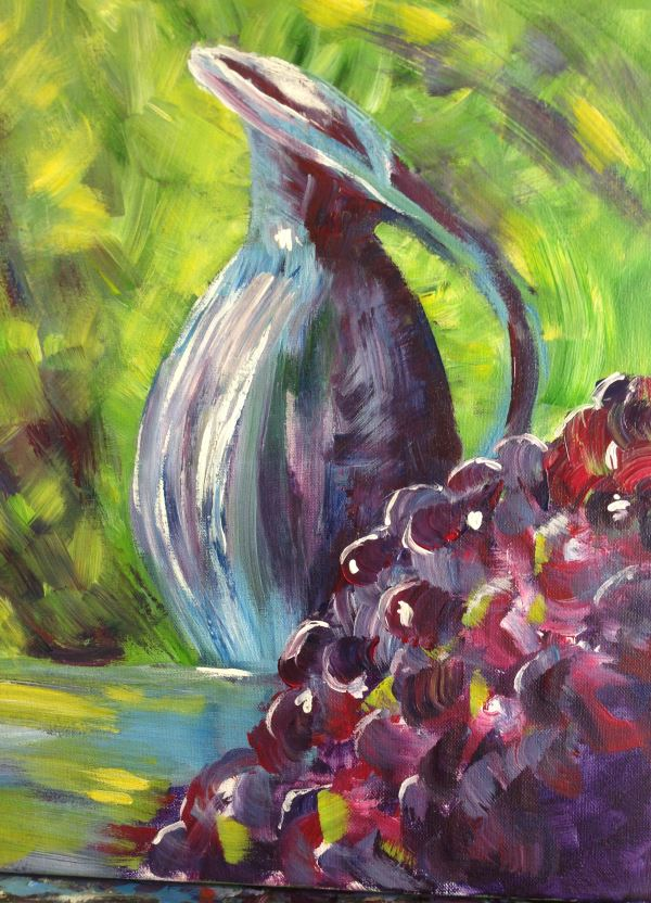 Still Life painted by Nicole at Inglis Academy.