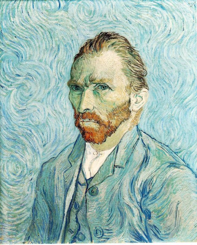 Van Gogh: Self Portrait, 1889