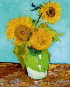 Van Gogh: Sunflowers version 1