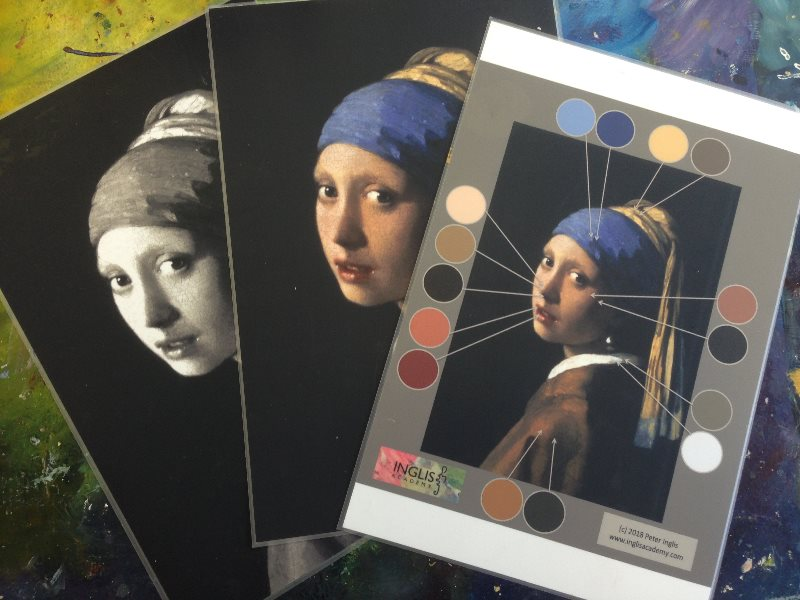 'Monet & Friends' course material | Vermeer: Girl with a Pearl Earring, 1665