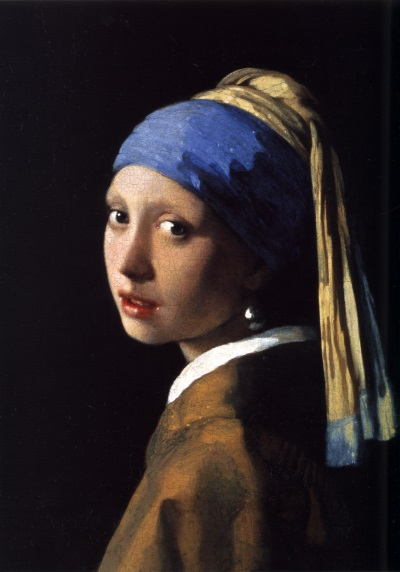 Vermeer: 'Girl with the Pearl Earring, 1665'